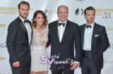 Gethin Anthony, Abigail Spencer, Prince Albert II de Monaco et Grey Damon -1